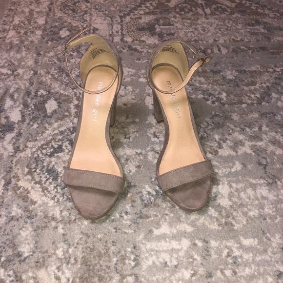 924788bf334fe Madden Girl Bella Two Piece Block Heel 7